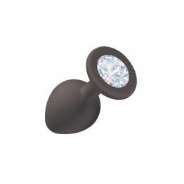 Анальная пробка Emotions Cutie Medium Black moonstone crystal 4012-08Lola
