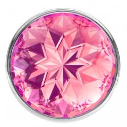Анальная пробка Diamond Pink Sparkle Small 4009-03Lola