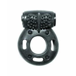 Эрекционное кольцо с вибрацией Rings Axle-pin black 0114-82Lola
