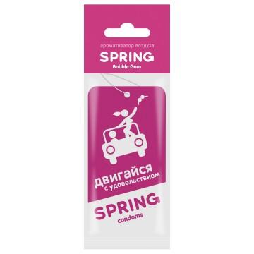 Ароматизатор автомобильный SPRING,Bubble Gum