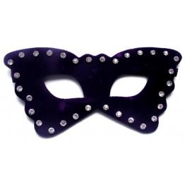 МАСКА НА ГЛАЗА цвет фиолетовый, (PVC) арт.MLF-90016-5