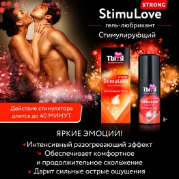 ГЕЛЬ-ЛЮБРИКАНТ Stimulove strong флакон - диспенсер 20г арт. LB-70005