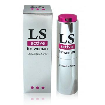 LOVESPRAY ACTIVE спрей для женщин (стимулятор) 18мл арт. LB-18001