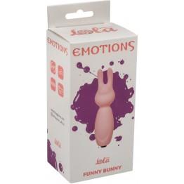 Мини вибратор Emotions Funny Bunny Light pink 4007-02Lola