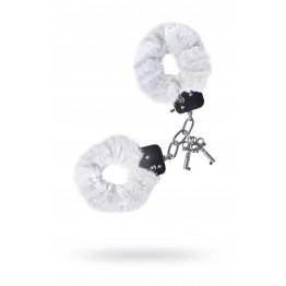 Наручники меховые белые 951027