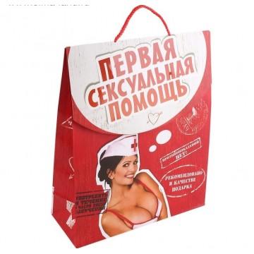 Пакет-конверт Первая сексуальная помощь интим