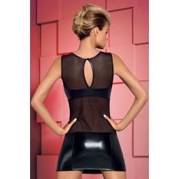 платье  и трусики  Wetty (S\M, черный)