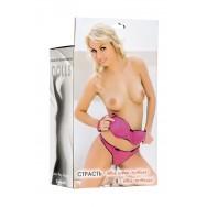 Кукла надувная Hannah, блондинка,TOYFA  Dolls-X Passion, с тремя отверстиями,  кибер вставка: вагина