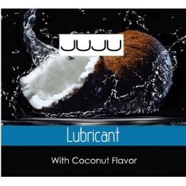 Съедобный лубрикант JUJU со вкусом кокоса и сливок Саше 3ml 7715JU