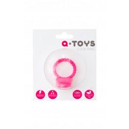 Эрекционное кольцо на пенис  , Силикон, Розовый, Ø3,5 см 769005