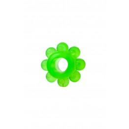 Набор колец на пенис 6 шт , TPE, зеленый 888200-10