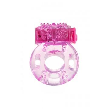 Виброкольцо TOYFA, TPE, розовый 818040-3