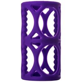 Насадка на пенис TOYFA A-Toys  , Силикон, Фиолетовый, 7,5 см