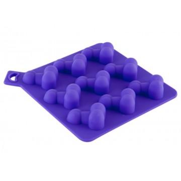 Формочка для льда, фиолетовая.
