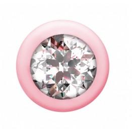 Анальная Цепочка с Кристаллом Emotions Buddy Pink 1400-01lola