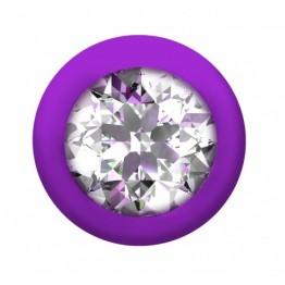 Анальная Цепочка с Кристаллом Emotions Buddy Purple 1400-03lola