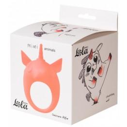 Эрекционное Кольцо Mimi Animals Unicorn Alfie Orange 7000-26lola