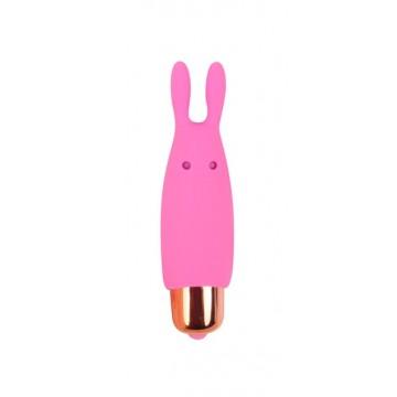 ВИБРОМАССАЖЁР МИНИ, L 73 мм D 24 мм, цвет розовый арт. CSM-23069
