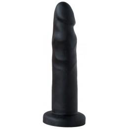 ПЛАГ-МАССАЖЕР ДЛЯ ПРОСТАТЫ В ЛАМИНАТЕ L 145 мм, D 35 мм, цвет чёрный арт. 420600ru