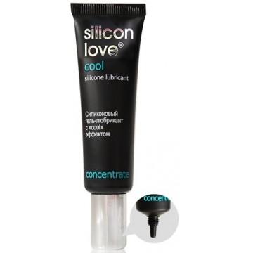ГЕЛЬ - ЛЮБРИКАНТ SILICON LOVE COOL  30г, силиконовый с cool эффектом  арт. LB-21003