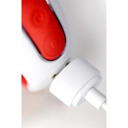 Нереалистичный вибратор Satisfyer Vibes Power Flower, Силикон, Красный, 18,8 см