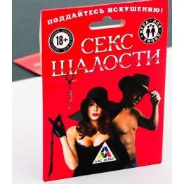 ИГРА ДЛЯ ДВОИХ СЕКС ШАЛОСТИ артикул 1989179ru