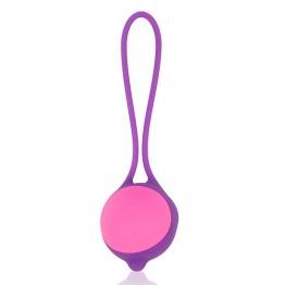 ШАРИК ВАГИНАЛЬНЫЙ, D 34 мм, цвет фиолетовый арт. CSM-23078