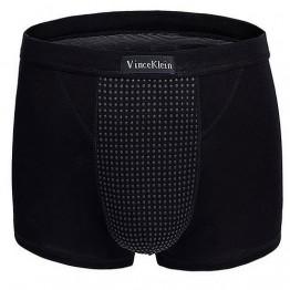 Магнитные боксеры S (для роста 160-180 см, вес 50-60 кг) черные Vince Klein