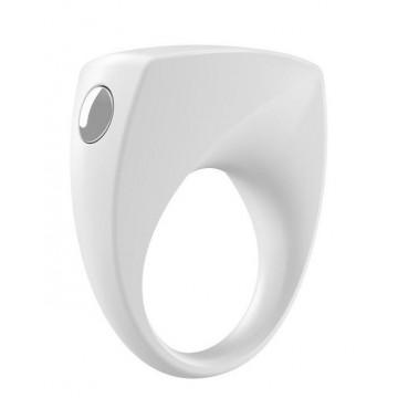 Эрекционное кольцо белое B6-10