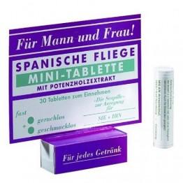 Универсальные Шпанская мушка в мини-таблетках Spanische Fliege Minitableten 30 штук, 32 MIL