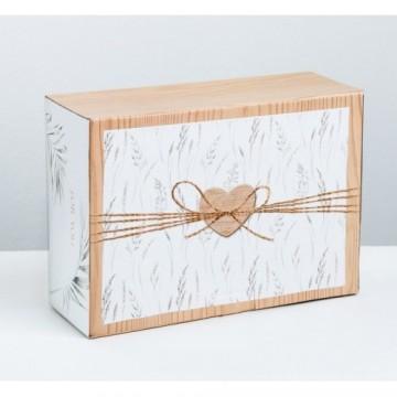 Коробка‒пенал For you, 26 × 19 × 10 см