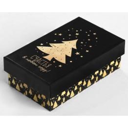 Коробка Золотой узор-8