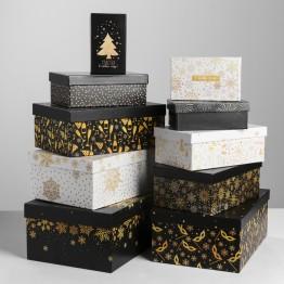 Коробка Золотой узор-10