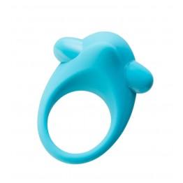 Эрекционное кольцо на пенис TOYFA A-Toys, Силикон, Голубой, Ø5,4 см