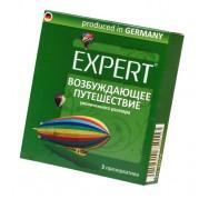 """Презервативы Expert """"Возбуждающее путешествие"""" №3, увеличенного размера, 3шт"""