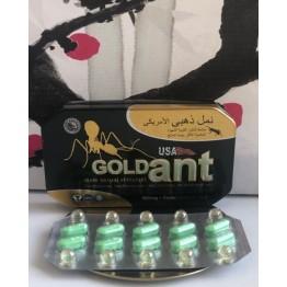Мужские  таблетки Gold ANT, 1 шт.