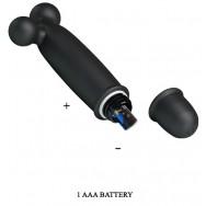 ВИБРОМАССАЖЁР CODDARD 10 режимов вибрации, L 118 мм, чёрный арт. BI-014535-4