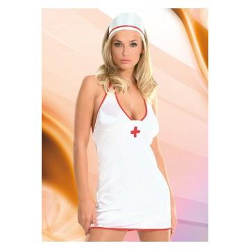 Костюм медсестры белый-S/M