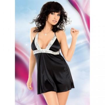 Мини платье черное-M/L