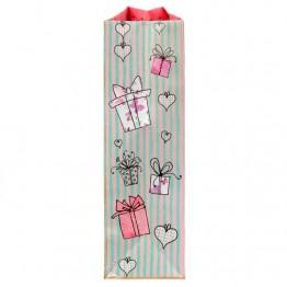 Пакет ламинат вертикальный Подарочки, 23 х 27 х 8 см      1717539