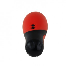 МАСТУРБАТОР С ВИБРАЦИЕЙ цвет колбы красный, 30 режимов вибрации, вес 350г арт. BM-00900T34