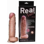 Фаллоимитатор  на присоске 8,8 REAL Next №56 565603ru
