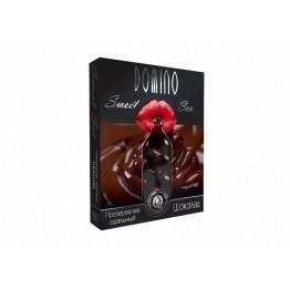 ПРЕЗЕРВАТИВЫ DOMINO SWEET SEX Шоколад 3штуки (оральные)