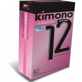 ПРЕЗЕРВАТИВЫ KIMONO (с ароматом сакуры) 12 шт.