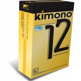 ПРЕЗЕРВАТИВЫ KIMONO (супертонкие) 12 шт.