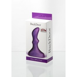 Анальный стимулятор Small ripple plug purple 510160lola