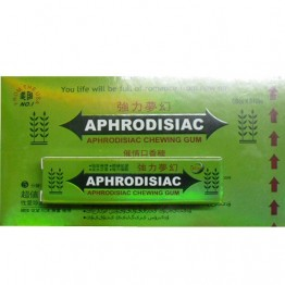 Жевательные пастилки Возбуждающие Aphrodisiac 5шт., Aphrodis47465